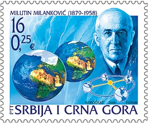 M MILANKOVIC (1879-1958) stamp