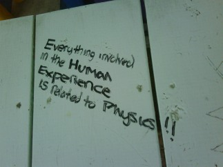 physics graffitti